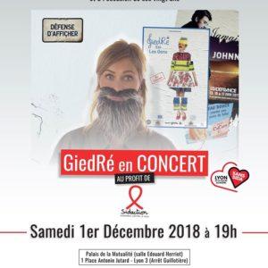 Contact Rhone contre le Sida - 1er décembre 2018